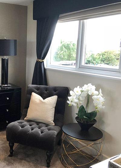 Black Gold Bedroom Jo Sloanes Interior Design